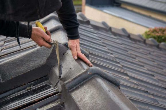 roof covering repairs